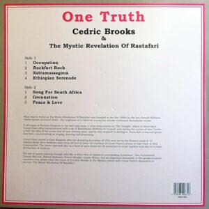 CEDRIC BROOKS & THE MYSTIC REVELATION OF RASTAFARI – One Truth