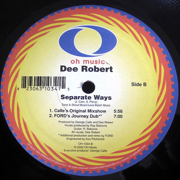 DEE ROBERT - Separate Ways