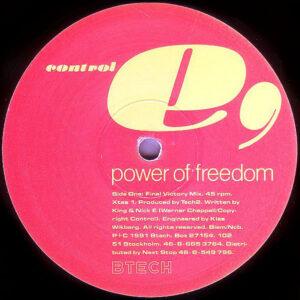 CONTROL E – Power Of Freedom