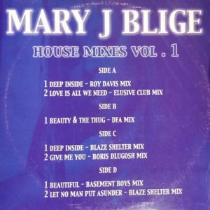 MARY J BLIGE – House Mixes Vol 1