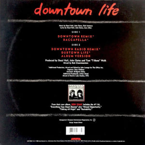 DARYL HALL & JOHN OATES – Downtown Life