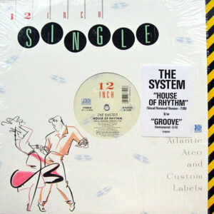 THE SYSTEM - House Of Rhythm/Groove