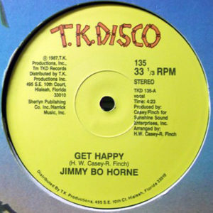 "JIMMY ""BO"" HORNE / CHAS JANKEL – Get Happy/Glad To Know You"