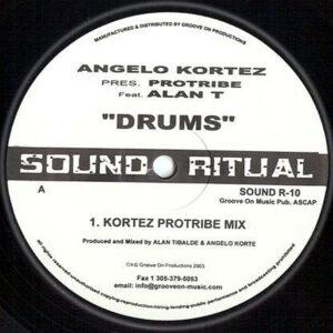 ANGELO KORTEZ presents PROTRIBE feat ALAN T – Drums