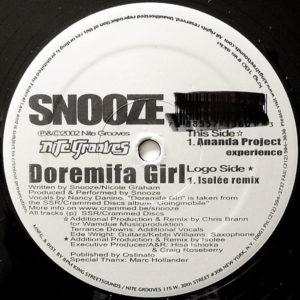 SNOOZE – Doremifa Girl