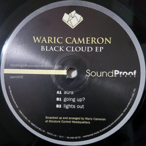 WARIC CAMERON - Black Cloud EP