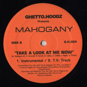 JAHEIM presents MAHOGANY – Take A Look At Me Now