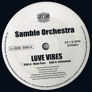 SAMBLE ORCHESTRA – Love Vibes