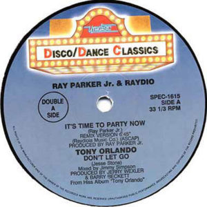 VARIOUS – It's Time To Party Now/Don't Let Go/Jump To The Beat/Stay The Night