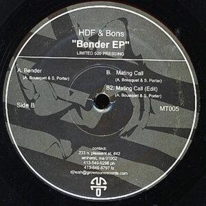 HDF & BONS - Bender EP