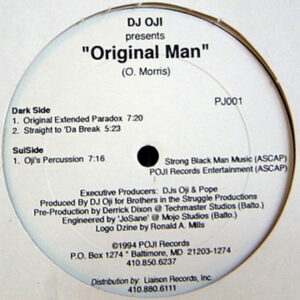 DJ OJI presents – Original Man