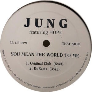 JUNG feat HOPE – You Mean The World To Me