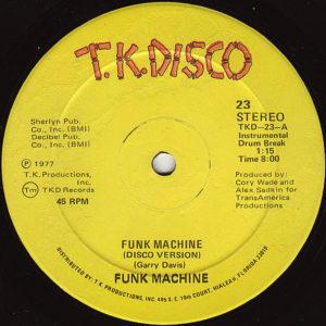 FUNK MACHINE - Funk Machine