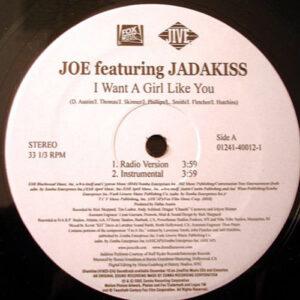 JOE feat JADAKISS – I Want A Girl Like You