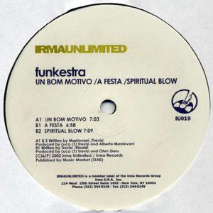 FUNKESTRA - Um Bom Motivo/A Fiesta/Spiritual Blow