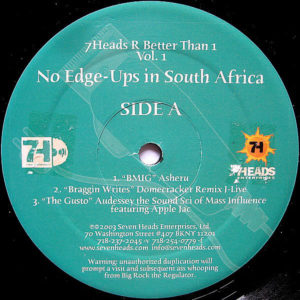 VARIOUS – No Edge Ups In South Africa Vol 1