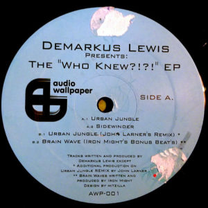 DEMARKUS LEWIS – The Who Knew EP
