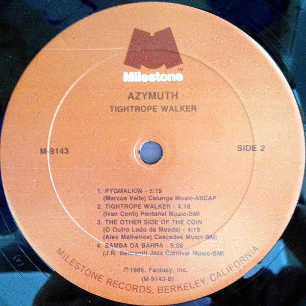 AZYMUTH - Tightrope Walker