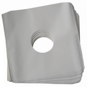 "12""/LP Innersleeves Polylined White Standard"