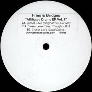 FRIES & BRIDGES - Affiliated Drums Ep Vol 1