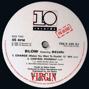 BLOW feat BELVA – Change