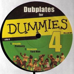 VARIOUS - Dubplates For Dummies Vol 4