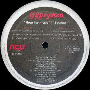 GYPSYMEN - Hear The Music/Bounce