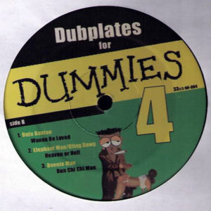 VARIOUS – Dubplates For Dummies Vol 4