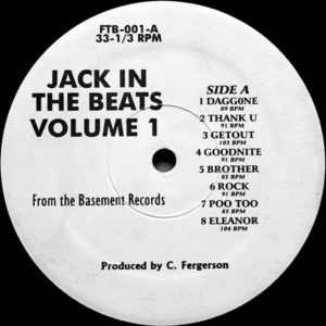 VARIOUS – Jack In The Beats Vol 1