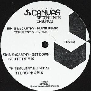 B McCARTHY / TEMULENT & J INITIAL - Split Personalities Vol 1
