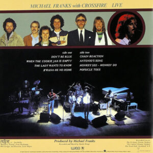 MICHAEL FRANKS with CROSSFIRE – Live