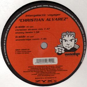 CHRISTIAN ALVAREZ - Intergalactic Voyager