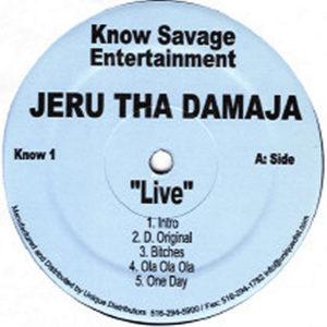 JERU THE DAMAJA – Live