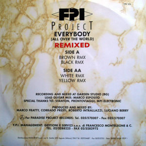 FPI PROJECT – Everybody ( All Over The World ) Remixed