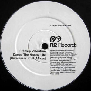 FRANKIE VALENTINE – Dance The Happy Life