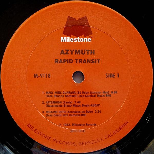 AZYMUTH - Rapid Transit