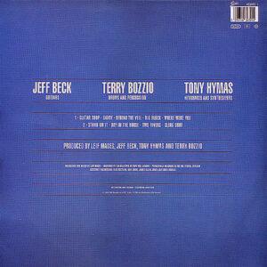 JEFF BECK, TERRY BOZZIO & TONY HYMAS – Jeff Beck's Guitar Shop