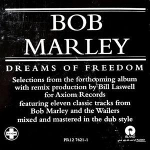 BOB MARLEY - Dreams Of Freedom Ambient Mix Translations Of Bob Marley In Dub