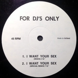 GEORGE MICHAEL – I Want Your Sex Remix