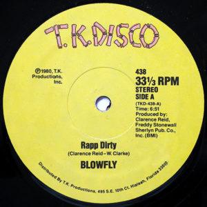 BLOWFLY – Rapp Dirty/Blowfly's Rapp