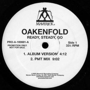 OAKENFOLD - Ready, Steady, Go