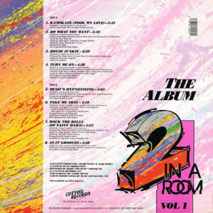 VARIOUS – 2 In A Room Vol 1