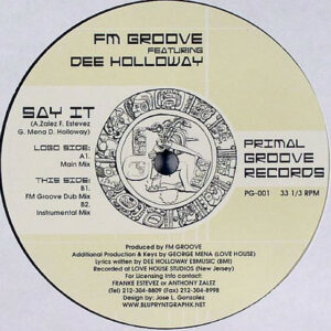 FM GROOVE feat DEE HOLLOWAY - Say It