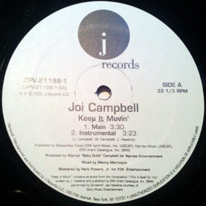 JOI CAMPBELL – Keep It Movin'
