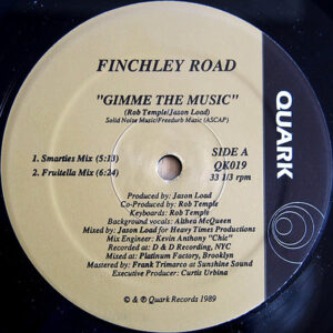 FINCHLEY ROAD – Gimme The Music