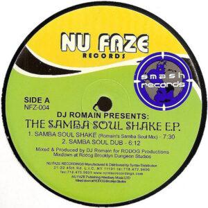 DJ ROMAIN - Samba Soul Shake EP