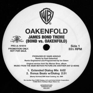 OAKENFOLD – James Bond Theme