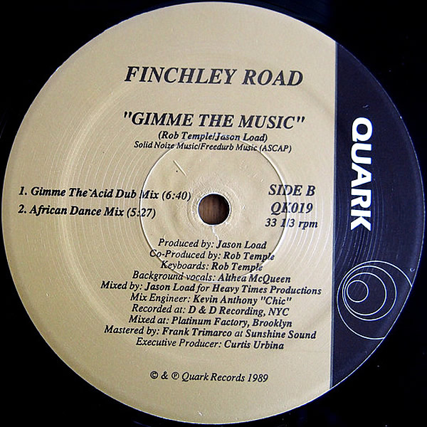 FINCHLEY ROAD - Gimme The Music
