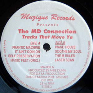 THE MD CONNECTION – Tracks That Move Ya