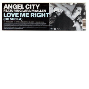 ANGEL CITY feat LARA MCALLEN – Love Me Right